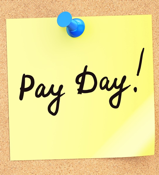 pay day sticker
